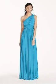 bridesmaid gown malibu blue bridesmaid dresses david s bridal