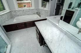 Marble Tile Kitchen Backsplash Marble Countertops With Backsplash White Carrara Marble Kitchen