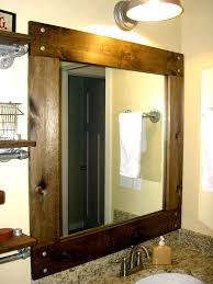 Frame Bathroom Mirror Kit Enchanting Ideas Bathroom Mirror Frame Kit Marvelous Ideas