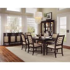 a r t furniture intrigue rectangular dining table dark wood