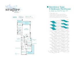 Four Bedroom by Four Bedroom The Residences At Seafire A Luxury Home For Sale
