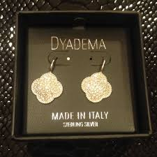 dyadema earrings 21 dyadema jewelry dyadema sterling silver 925 clover