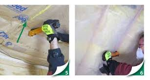Insulation In Ceiling by Attic Insulation Ceilings Installation Instructions