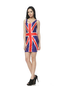Uk Beach Flags Uk England British Flag Vest Summer Dress Beach Dresses Clothes
