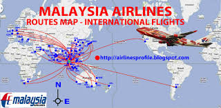 Airline Route Maps by Airway Map Of The World You Can See A Map Of Many Places On The