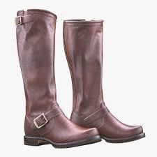 womens boots frye womens frye slouch womens boots 3d model
