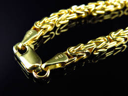 gold box chain bracelet images 10k yellow gold box byzantine link style chain 3mm jpg