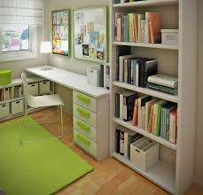 Office Small Home Office Space With Modern Desk Designs Small