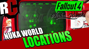 Fallout World Map by Fallout 4 Nuka World All New Map Locations Youtube