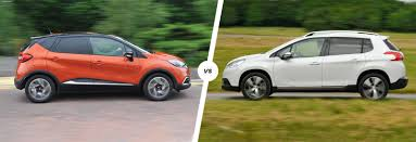 peugeot 2008 2015 renault captur vs peugeot 2008 comparison carwow