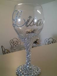 how to personalize a wine glass best 25 wine glasses online ideas on white elephant
