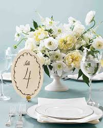printable wedding table number templates martha stewart weddings