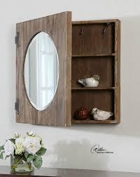 Rustic Bathroom Mirror - rustic bathroom mirror cabinet best bathroom decoration