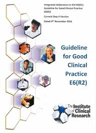 icr guideline for good clinical practice e6 r2