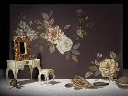 wallpaper for home interiors 70 best embroidered interiors images on fabric