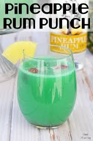 a delicious pineapple rum punch recipe pineapple rum captain