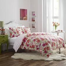 amazon com poppy u0026 fritz floral buffy comforter sham set twin