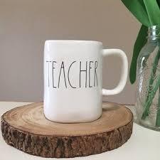 rae dunn mug rae dunn last chance rae dunn teacher mug from stephanie s