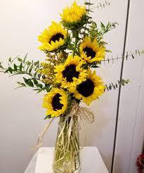 sunflower arrangements fall sunflowers bouquets fridley florist