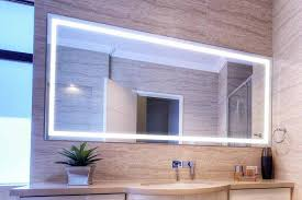 Lighted Mirrors For Bathrooms Home Decor And Bathroom Furniture Enlighten Your Rooms With