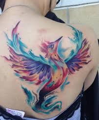best 25 watercolor phoenix tattoo ideas on pinterest phoenix