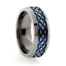 titanium band 94 best infinity wedding bands images on infinity