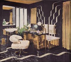 1940s hollywood glamour bathroom bomb there was the bathroom