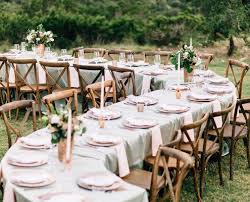 tables and chair rentals tables chairs party time rentals