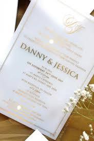acrylic wedding invitations 69 best acrylic wedding invitation images on bridal
