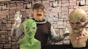 silicone mask collectors aliens holiday special youtube
