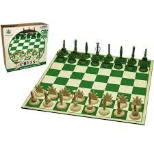 Chess Board Amazon Marijuana Themed Chess Set Stoner Gadgets