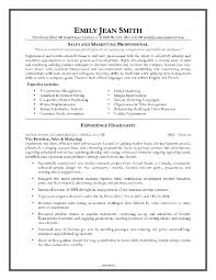 Resume For Marketing Job by Resume Format For Marketing Job Samples Of Resumes