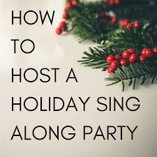 Christmas Party Host - how to host a sing along christmas party go play piano