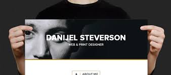 Create Online Resume Website by 20 Beautiful Muse Templates For Personal Websites