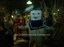 Stay Puft Marshmallow Man Costume Coolest Stay Puft Marshmallow Man Homemade Costume Marshmallow