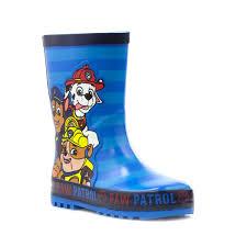 kids paw patrol welly 79122 shoe zone
