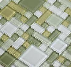 LADA Fresh Avocado GP Soft Green Glass Backsplash Tiles For - Green glass backsplash tile
