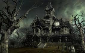 halloween wallpaper android halloween haunted house wallpaper wallpapersafari