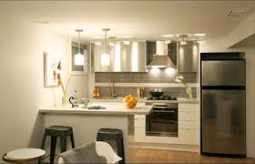 tiny one wall basement kitchen designs google search cottage
