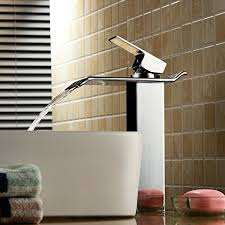 contemporary solid brass bathroom sink faucet widespread waterfall