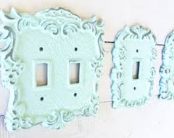 Shabby Chic Switch Plate by Color Light Switch Etsy