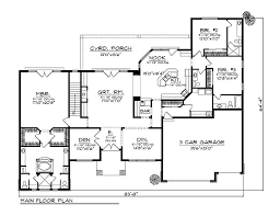 valuable ideas 11 luxury bungalow house floor plans plan 48000 at