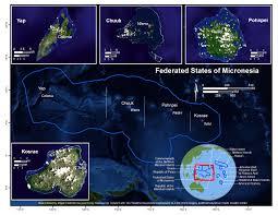 Micronesia Map Federated States Of Micronesia U2013 Pacific Risa U2013 Managing Climate
