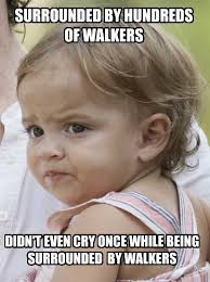 Sam Meme - tfw a toddler is more braver than sam and that says alot the