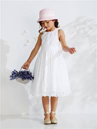white cotton summer dress little prettiness cute kids