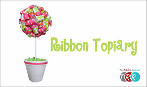 Lollipop Topiary How To Make A Ribbon Topiary Theribbonretreat Com Youtube