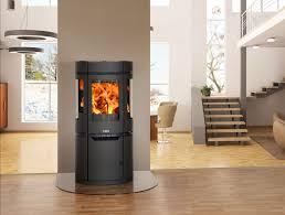 yukon 5kw 3 window contemporary wood burning stove