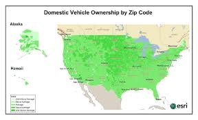 Los Angeles Zip Codes Map by Us Car Industry U2013 Who Is Buying Domestic Vs Imported U2013 Pam Allison
