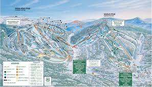 Mountain Map Trail Map
