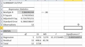 how to make anova table in excel how to calculate a correlation and p value in microsoft excel